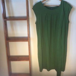 Emerald Green Dress from Talbots